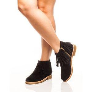 NEW! Kate Spade Betsie Fringe Boots Sz 6.5